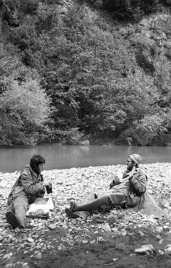 Pausa pranzo sul fiume Fiora
